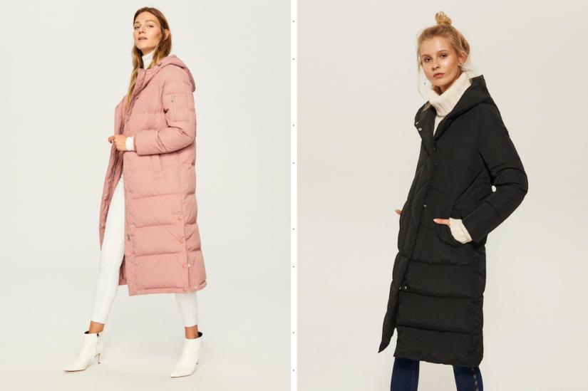 Długie pikowane płaszcze stylowo ochronią cię przed chłodem, fot. Reserved, House.
