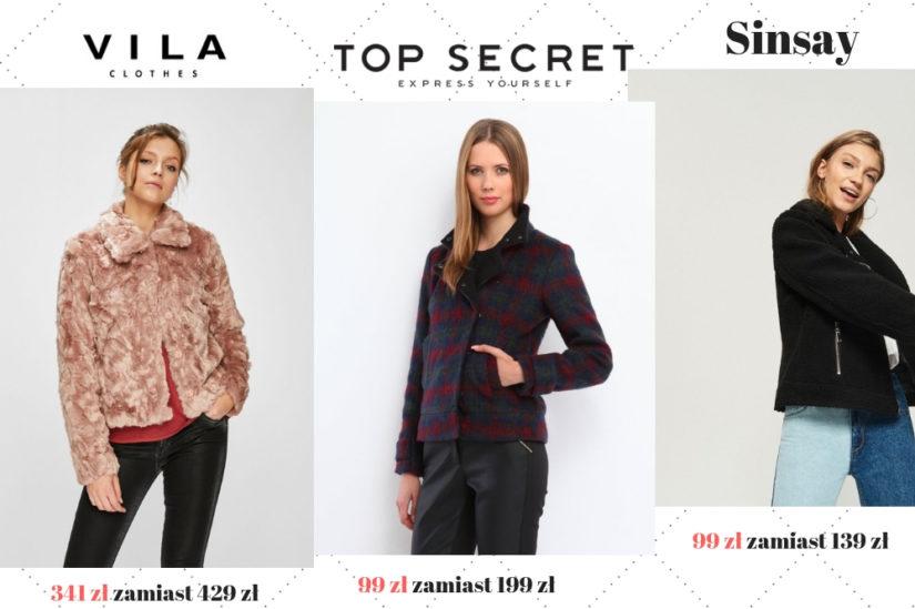 Zimowe eleganckie kurtki z wyprzedaży to zarówno  klasyczne, jak i i ekstrawaganckie modele, fot. 1. Answear.com