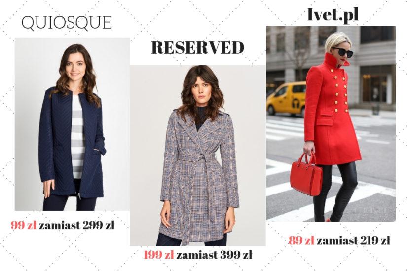 Wyprzedaże jesień/zima 2018 oferują modne płaszcze o klasycznym kroju