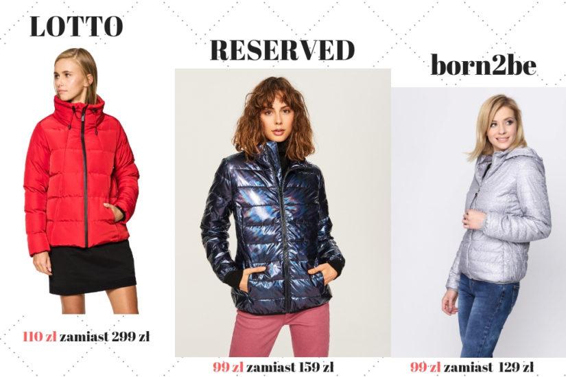 Puchowe kurtki damskie na zimę pasują do wielu stylizacji, fot. 1. 50style.pl