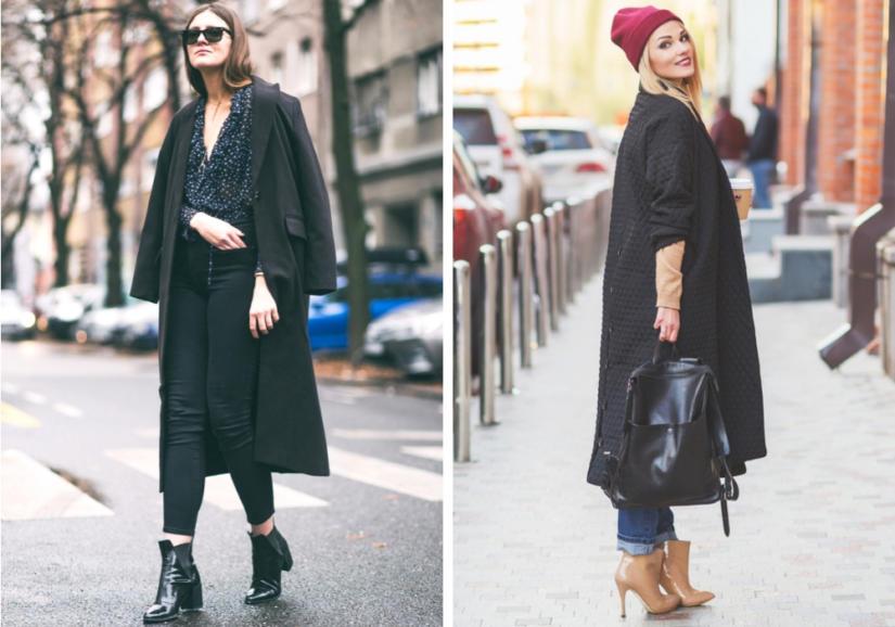 Możliwości stylizacji z płaszczem oversize jest naprawdę mnóstwo!