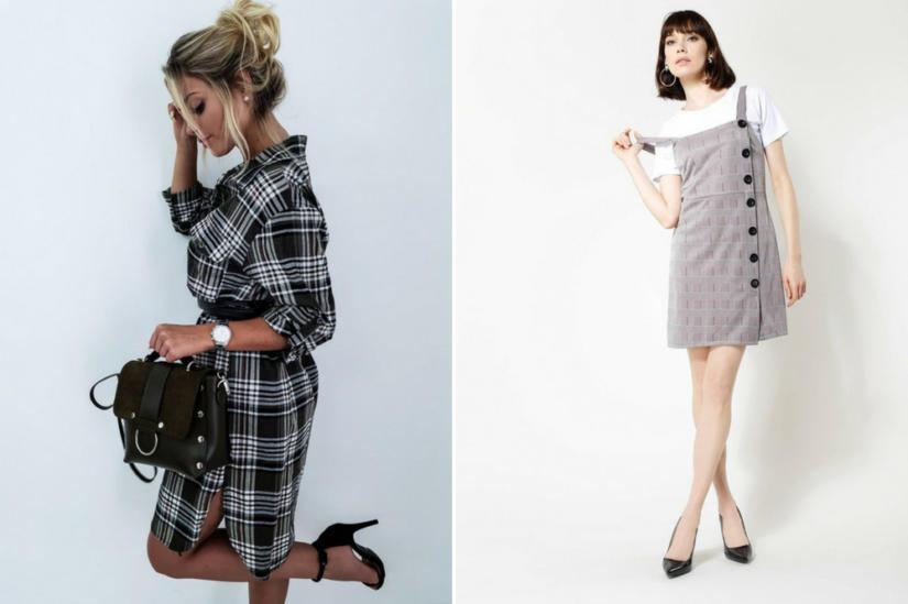 Sukienki w kratę: Butik Latika, Renee
