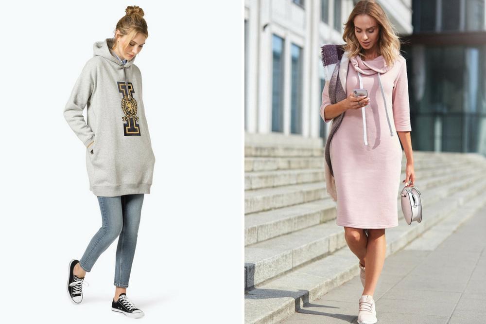 bcbed086e7 sukienki-w-sportowym-stylu-zima-2018 - Allani trendy