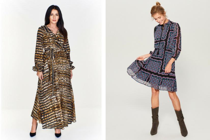 c51a83266d Najmodniejsze sukienki na zimę 2018 2019 - te modele to prawdziwy HIT!