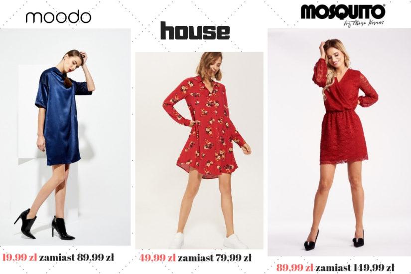 Wyprzedaże jesienno-zimowe to najlepszy czas na zakup stylowych sukienek