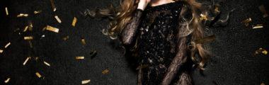 Stylowa, elegancka, zawsze modna - Czarna sukienka na sylwestra!