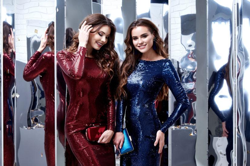 Cekinowe sukienki sylwestrowe cieszą się niezmiennie ogromną popularnością