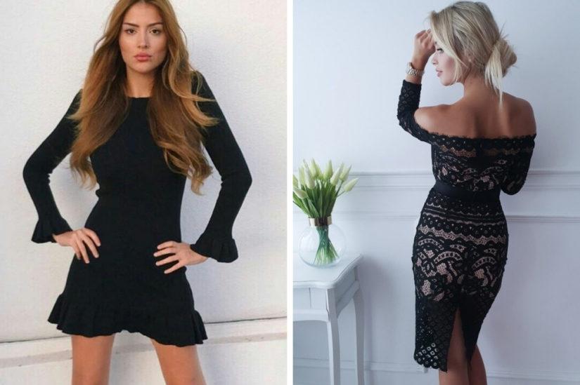 Małe czarne sukienki: Ivet.pl, Butik Latika
