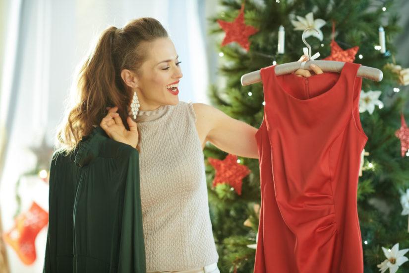 modne stylizacje na święta