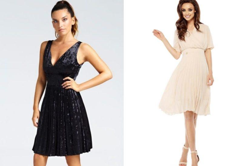 Plisowane sukienki: Guess, Molly.pl