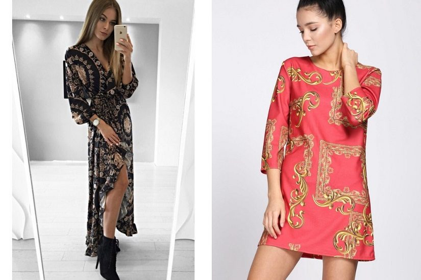 Scarf print na sukienkach: Mosquito, Born2Be