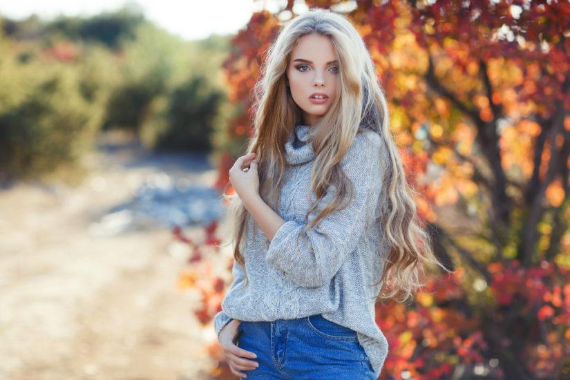 Wełniany sweter oversize to strzał w dziesiątkę na mroźne dni.