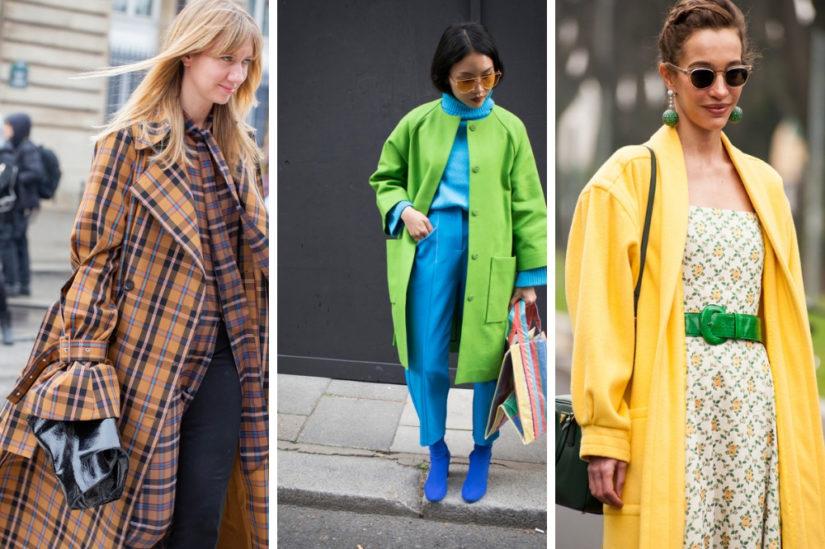Wiosenne płaszcze retro - pudełkowe lub z bufiastymi rękawami - ubarwią nam nadchodzący sezon!