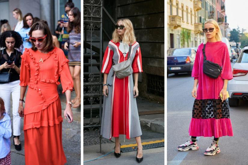 Kolor roku Pantone na sukienkach w stylu boho przyciąga wzrok i dodaje stylizacjom energii
