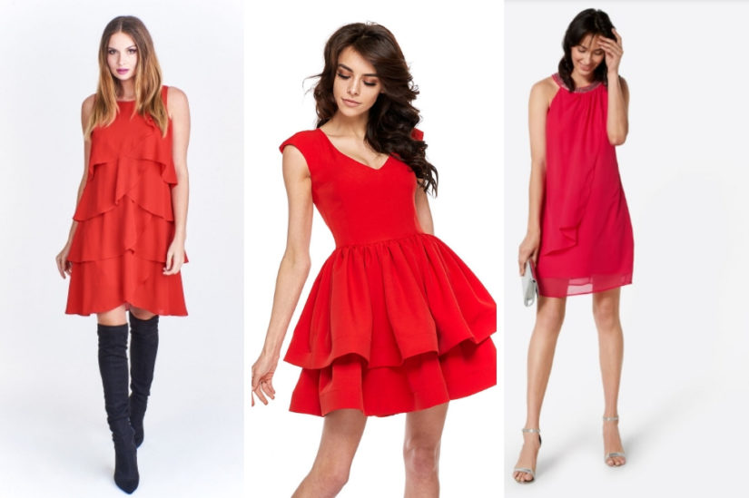 Szykowne sukienki w odcieniach słonecznego koralu będą doskonałym wyborem, jeśli znudziła ci się klasyczna czerń, fot. Ptakmoda.com, Cudmoda.pl, About You.