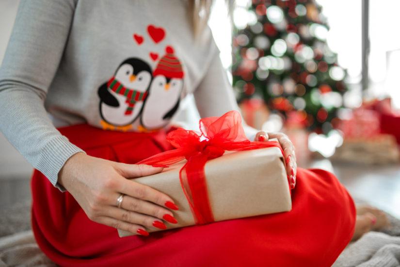 Stylizacje świąteczne powiny być eleganckie, ale to nie znaczy, że muszą być pozbawione humoru!