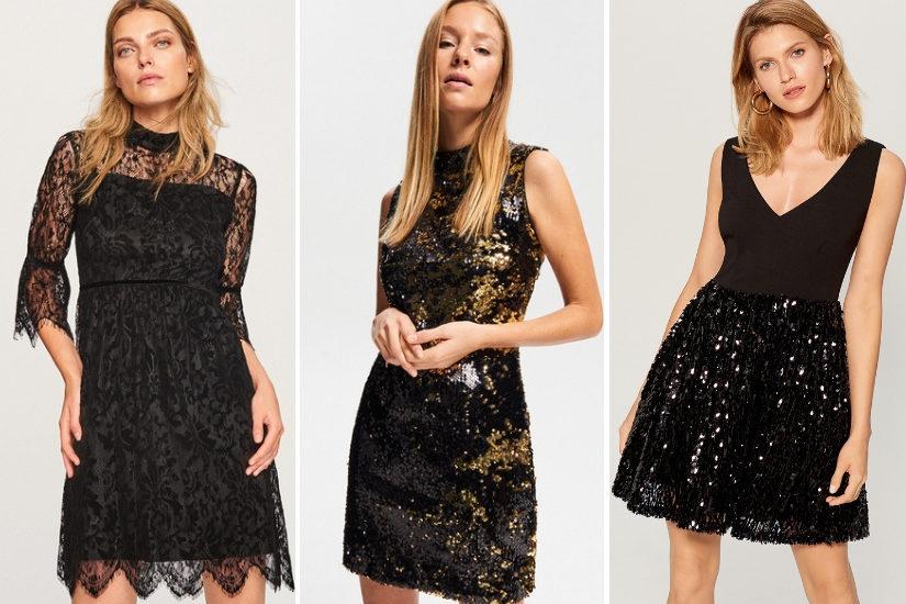 Czarne sukienki to klasyka, która sprawdzi się również na sylwestra!