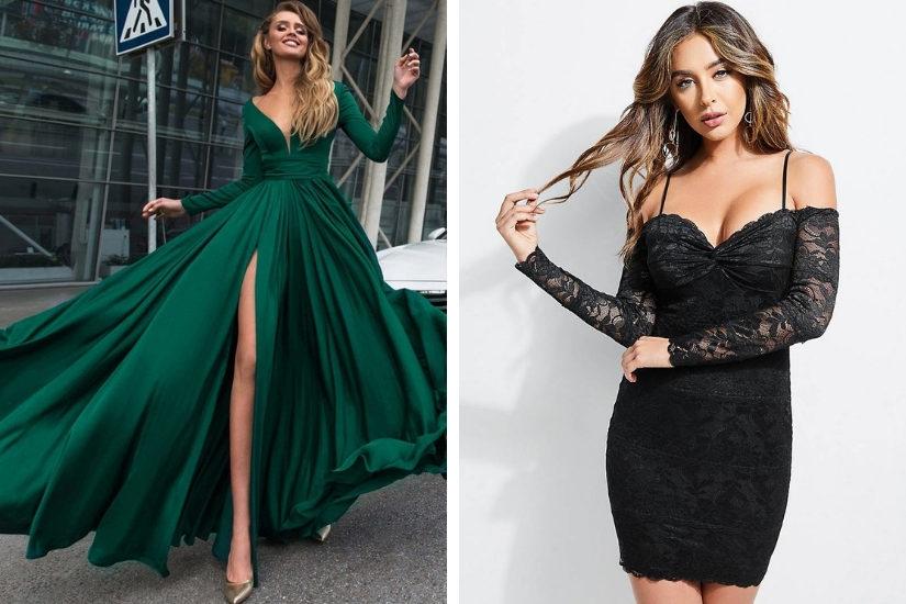 Długa czy krótka sukienka na sylwestra? Wybór należy do Ciebie!