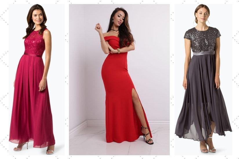 Proste długie sukienki są alternatywą dla balowych kreacji