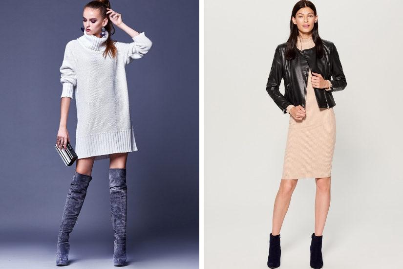 Sukienki dzianinowe sprawdzą się w wielu stylizacjach!