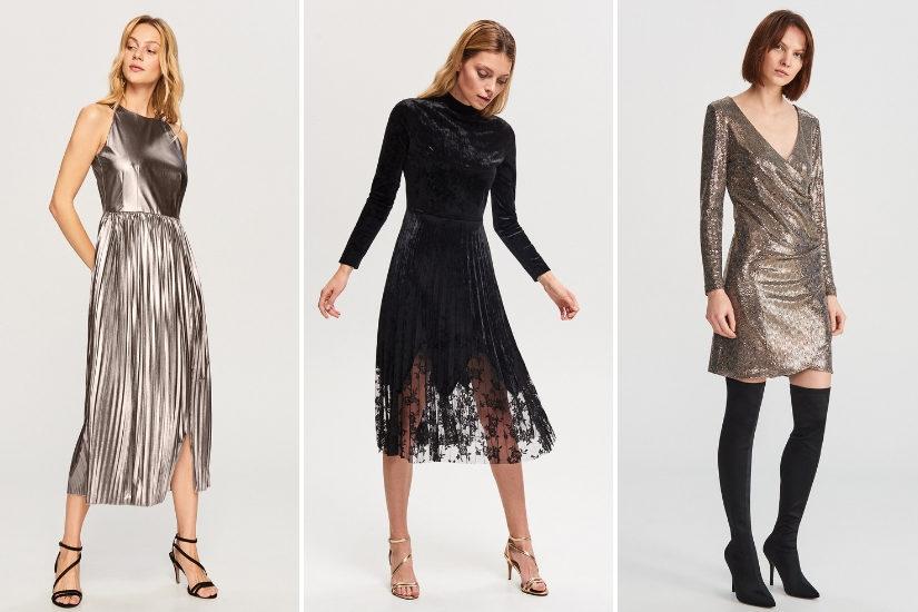 Sukienki na sylwestra 20182019 modne sylwestrowe kreacje