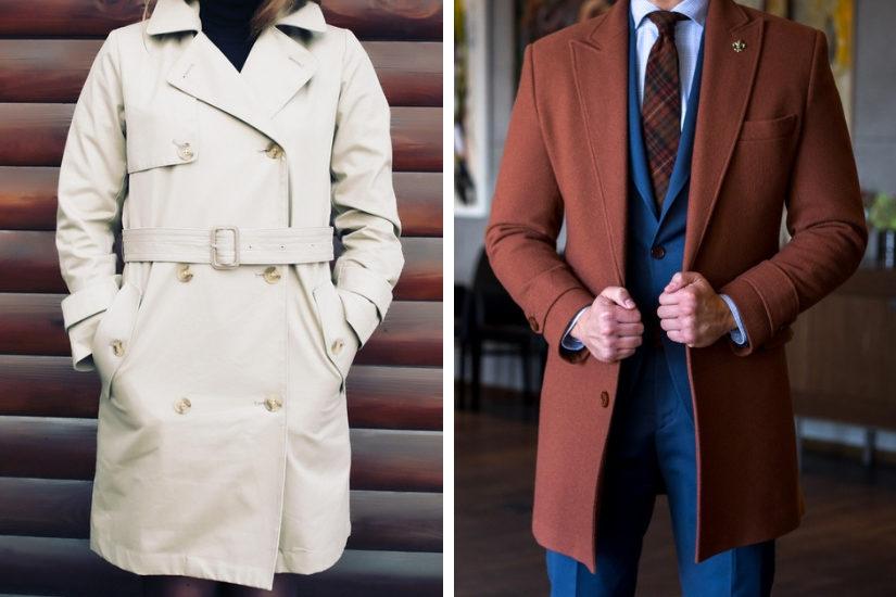 Dopełnieniem idealnej stylizacji na wigilię firmową będzie elegancki płaszcz, np. klasyczny wełniany