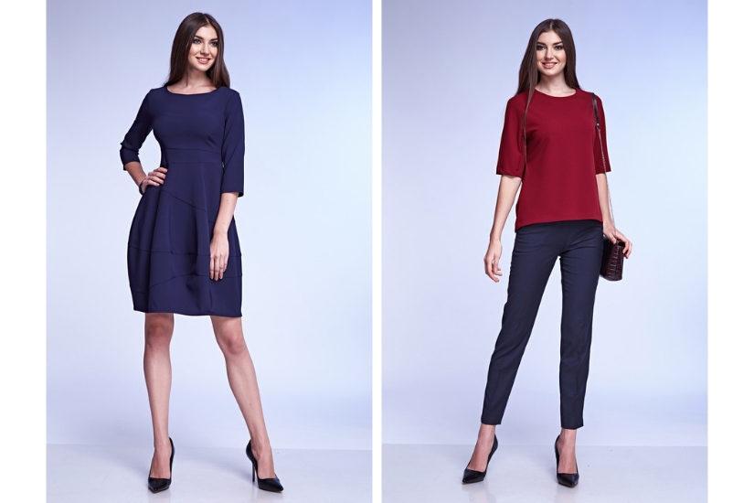 Wolisz elegancką stylizację na wigilię firmową z sukienką czy spodniami w roli głównej?