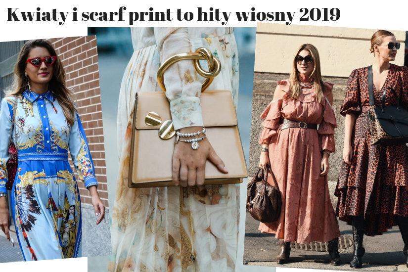 94543b1e8673 Trendy wiosna 2019 to także całe zatrzęsienie modnych wzorów. Co więcej