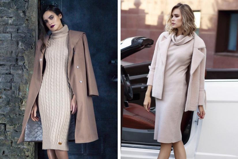 937c65c333 Sukienki dzianinowe i swetrowe – najmodniejszy wybór na zimę 2019 ...