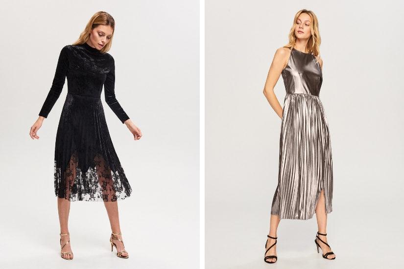 Sukienka midi, w połączeniu z butami na wysokim obcasie będzie pasować każdemu!