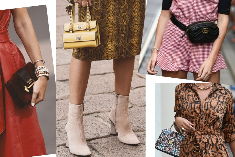Mikro-torebki, wielka biżuteria i klasyczne obuwie - jesteśmy na tak!