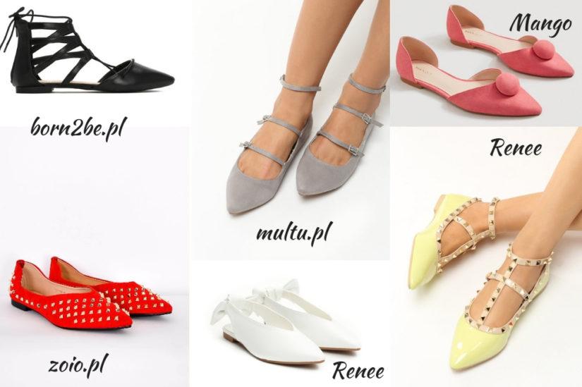 Baleriny w szpic to bardzo uniwersalne buty, które sprawdzą się przy wielu okazjach