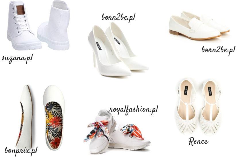 Białe buty będą tej wiosny bardzo modne