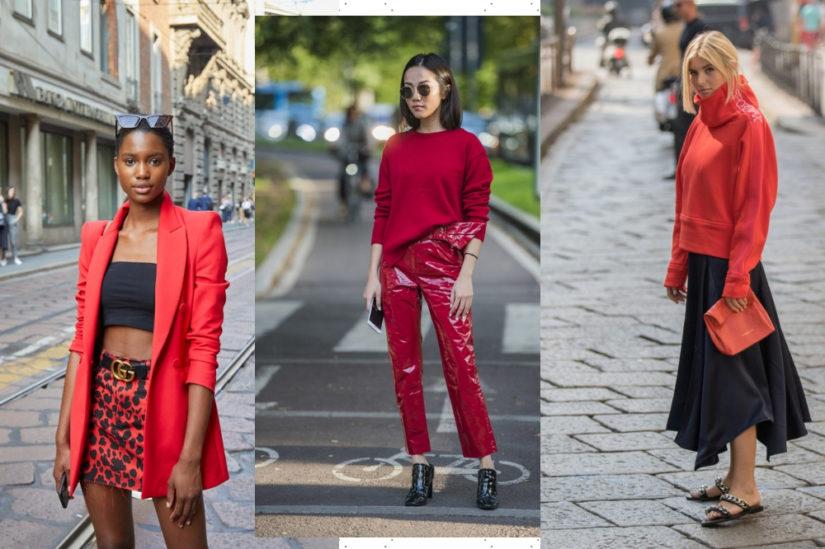 Wśród kolorów wiosny 2019 pojawi się też energetyczna i elegancka czerwień