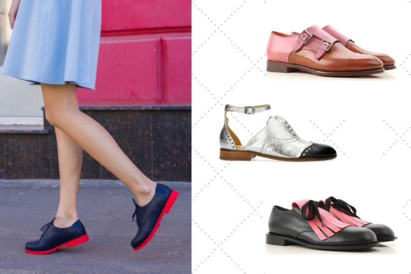 Damskie oksfordki w wiosennej garderobie to strzał w dziesiątkę, fot. Shutterstock, raffaello-network.com, melvin-hamilton.pl.