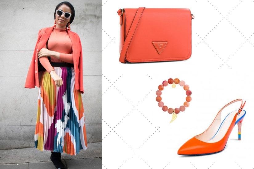 Pomarańcz będzie doskonale wyglądał również na dodatkach, fot. Shutterstock, Guess, Caviallo.eu, Ditrevi.pl.
