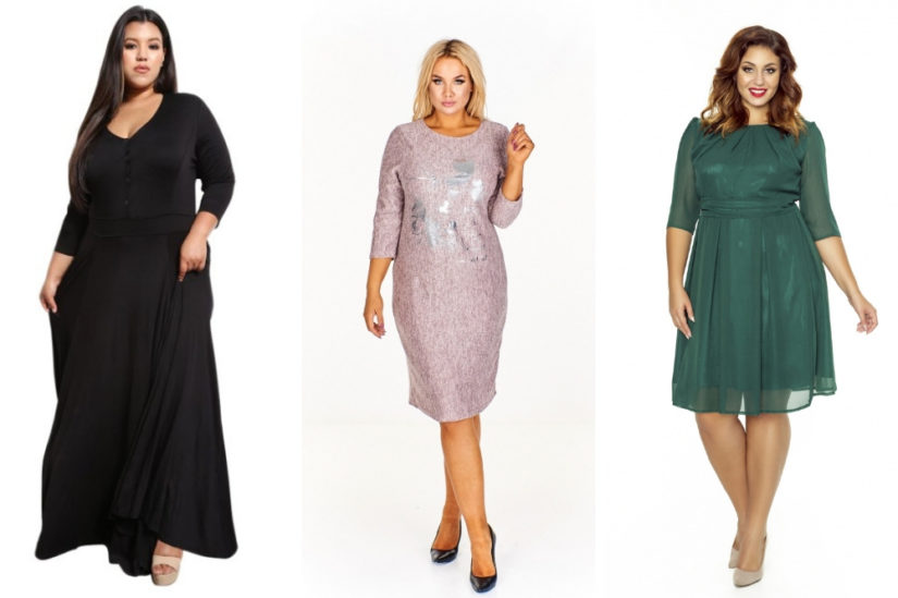 Model maxi, ołówkowy a może delikatnie rozkloszowany? Wśród sukienek dla puszystych nie brakuje ciekawych krojów, fot.  fot. noshame.pl, ptakmoda.com, kartes-moda.pl.