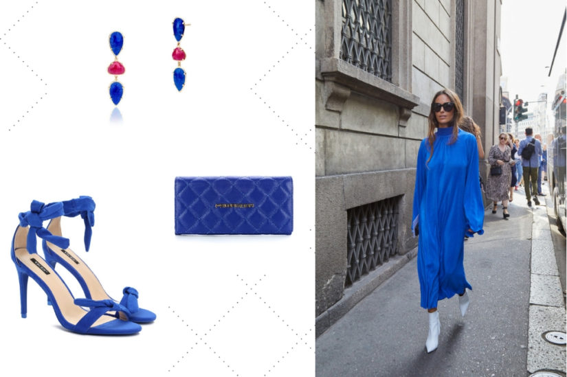 Kolor niebieski w tym sezonie zachwyci intensywną, głęboką barwą, fot. Born2Be, W.KRUK, Primamoda, Shutterstock.