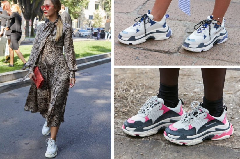 32096754e69d9b Sportowe buty na wiosnę 2019 w typie słynnych projektów Balenciagi wciąż są  na topie!