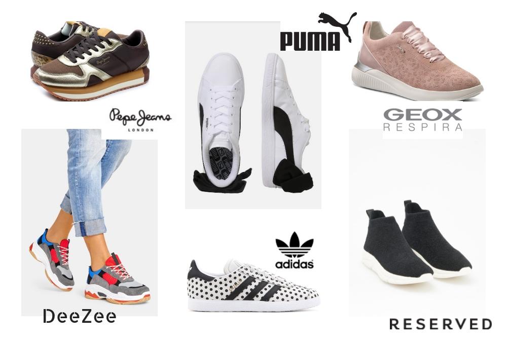 buty sportowe gwiazd stylowo i modnie z Allani