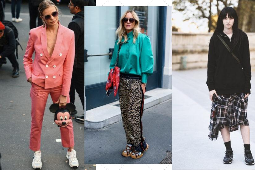 Z modnymi sneakersami stworzysz wiele ciekawych stylizacji na wiosnę!
