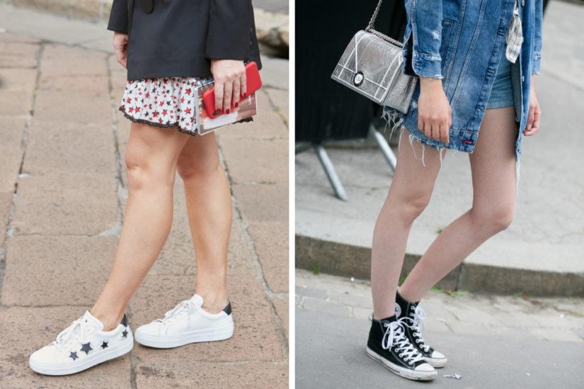 Trampki damskie w tym sezonie nadal traktowane są jako uniwersalne buty do wielu stylizacji.