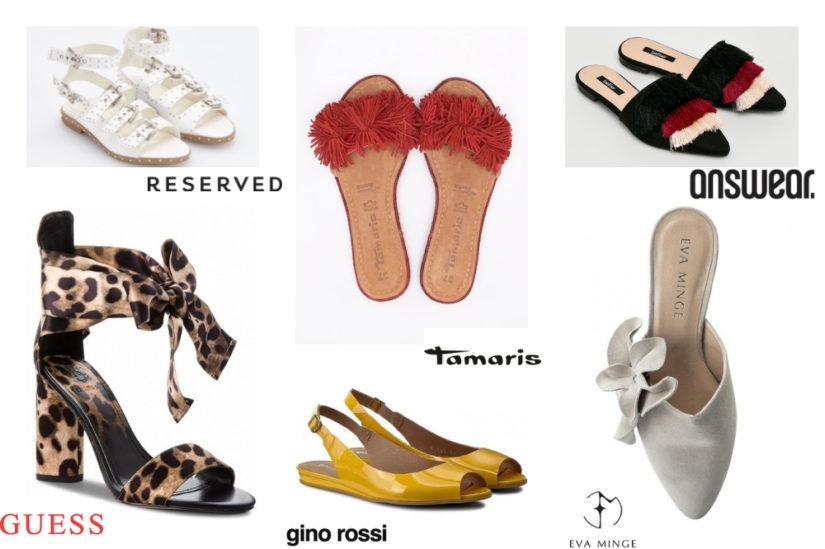 Letnie buty na wyprzedaży zimowej? U nas znajdziesz przecenione modele cały rok!