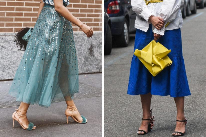Sandały na szpilce w wydaniu na wiosnę 2019 mają przykuwać uwagę - kolorem, formą, zdobieniami.