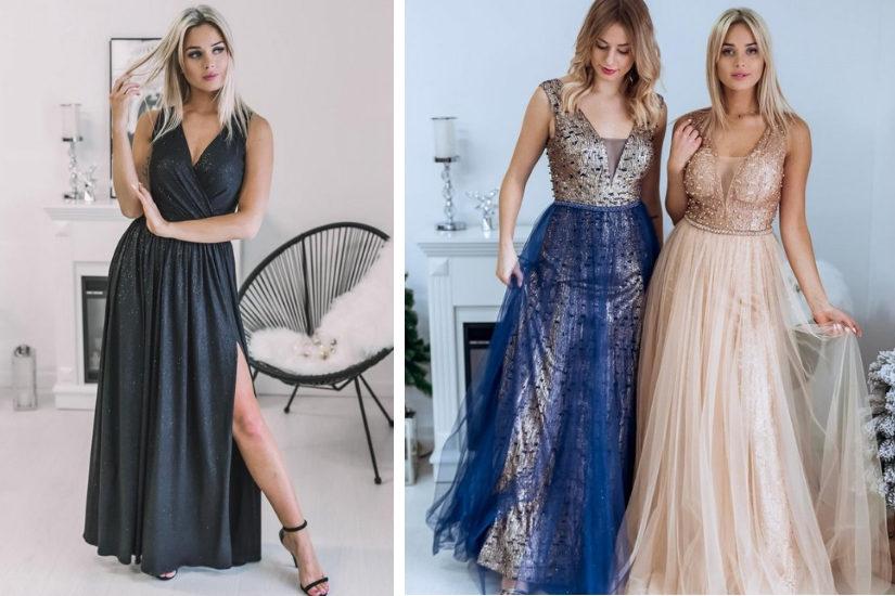Długie wieczorowe suknie na bal - wszystkie znajdziesz na Allani.pl