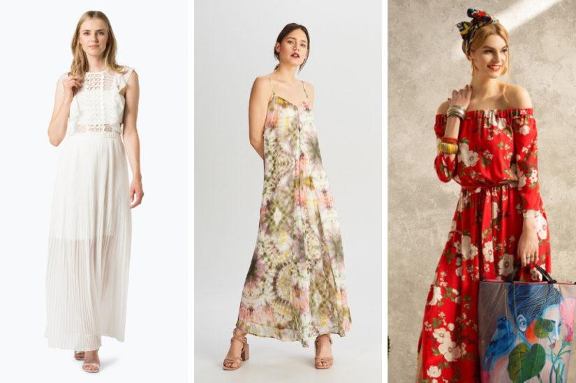 2f7e509f30 Długie sukienki w stylu boho dla miłośniczek letniej swobody