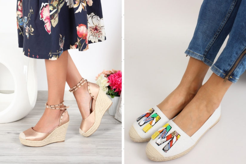 Atrakcyjne aplikacje, nadruki i ozdoby dodadzą tego rodzaju butom uroku i oryginalności, fot. royalfashion.pl, kupbuty.com.