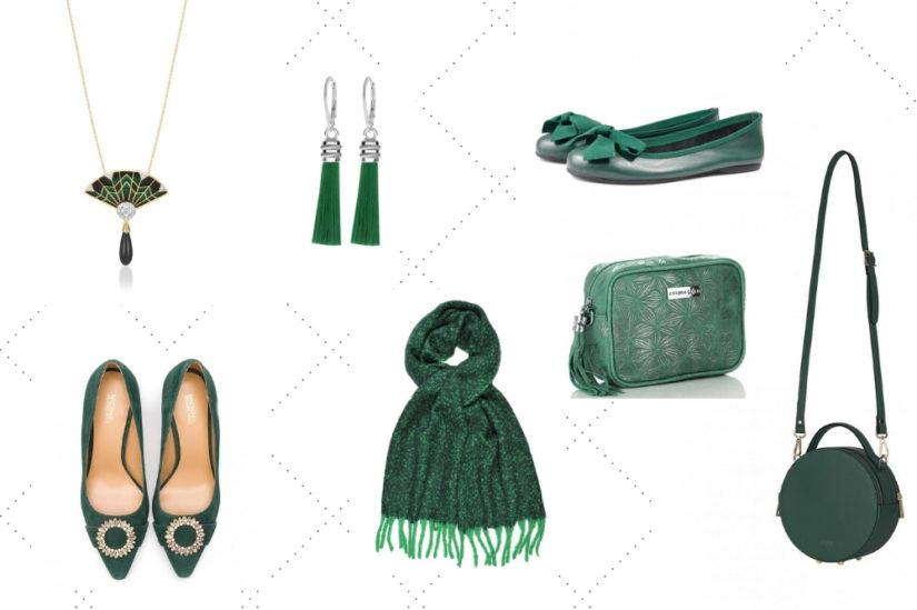 Dodatki w tym kolorze pięknie podkreślą wiele stylizacji. Produkty ze zdjęcia znajdziesz w katalogu Allani.pl