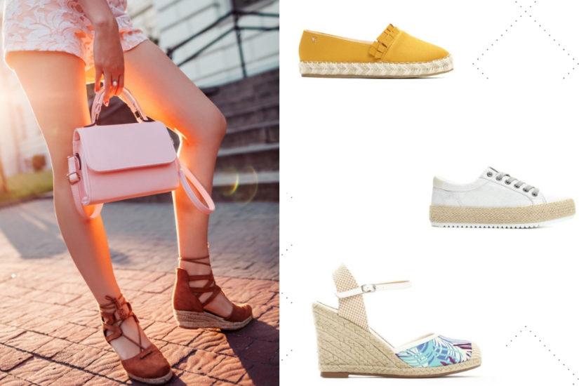 7d32b4a780cc6b Espadryle to idealne buty na ciepłe miesiące! fot. born2be.pl, renee.