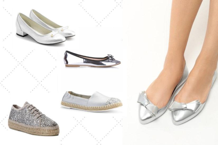 c414103fd24a4b Srebrne buty na wiosnę i lato – jakie wybrać? - Allani trendy